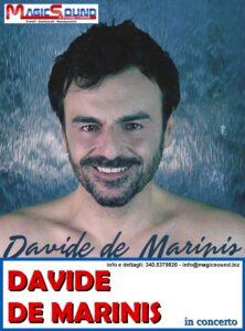 DAVIDE DE MARINIS MAGIC SOUND CANTANTI PROPOSTE SPETTACOLI