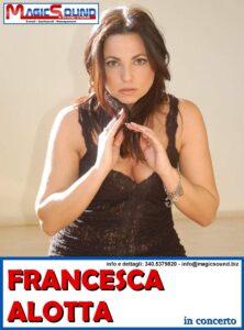 FRANCESCA ALOTTA MAGIC SOUND CANTANTI PROPOSTE SPETTACOLI