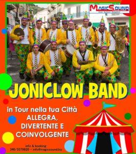 JONICLOWN BAND MAGIC SOUND VARI INTRATTENIMENTI PROPOSTE SPETTACOLI