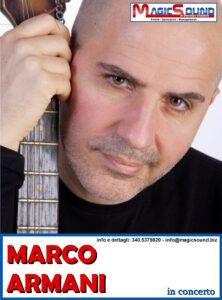 MARCO ARMANI MAGIC SOUND CANTANTI PROPOSTE SPETTACOLI